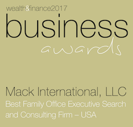 Mack International LLC Business Awards Winners Logo 2017