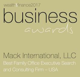 Mack International LLC Business Awards Winners Logo 2017
