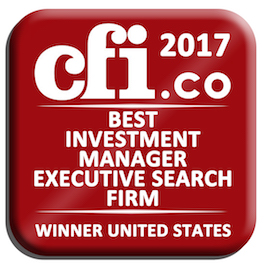 Mack International Winner Best Investment Manager Executive Search Firm United States 2017