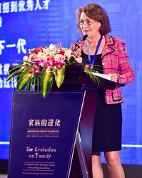 Linda Mack Speaking in China