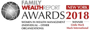 Family Wealth Report Award 2018 - Linda Mack Individual
