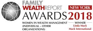Family Wealth Report Award 2018 - Linda Mack Individual