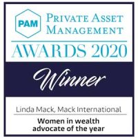 PAM Awards 2020 - Winner Women in Wealth Advocate of the Year - Mack International